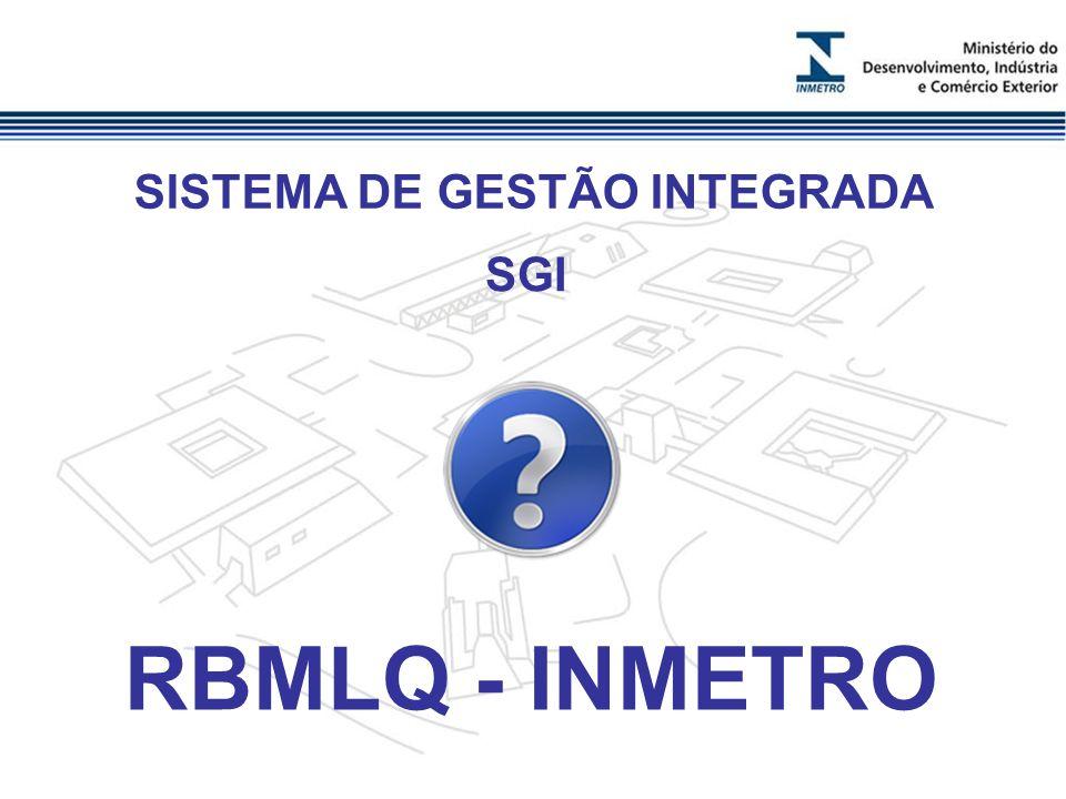 SISTEMA DE GESTÃO INTEGRADA RBMLQ - INMETRO SGI