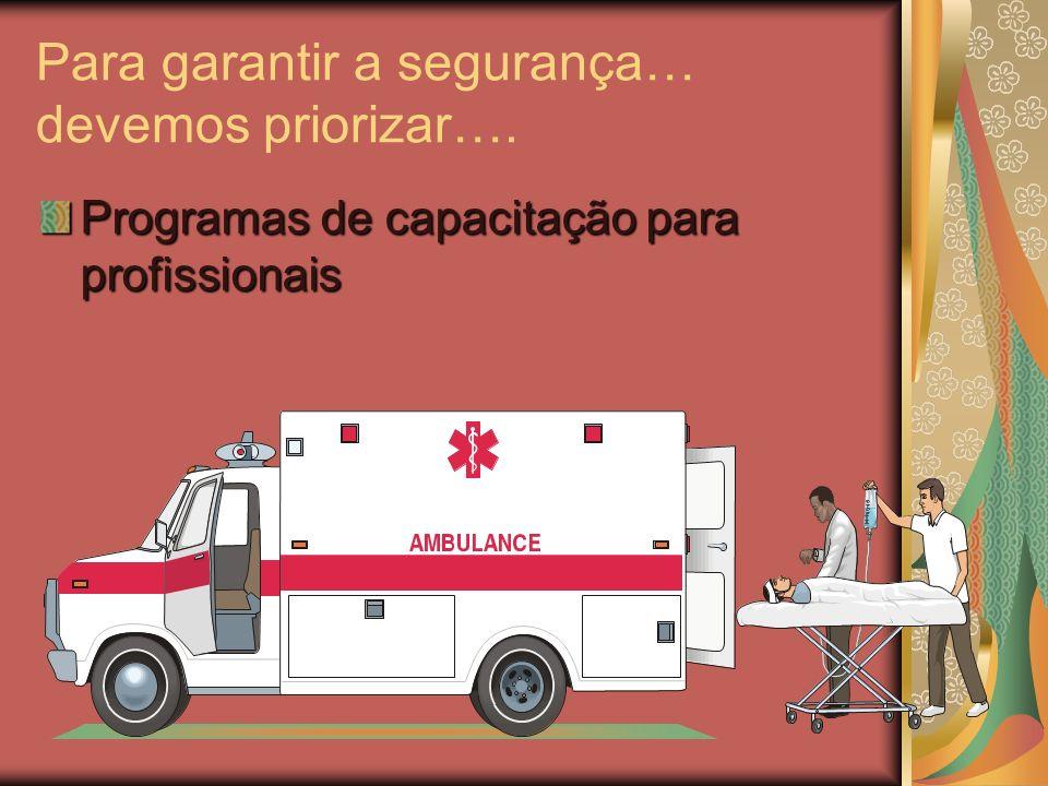 Orientar os agentes, sobre prioridades. Vigilância epidemiológica: Avaliação da população atendida e serviços fornecidos. Definir prioridades; Pacient