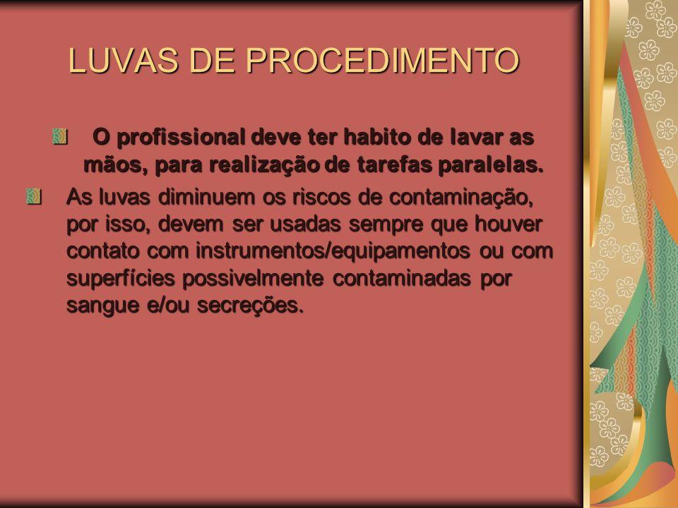 Biossegurança no uso de produtos para limpeza –Produtos utilizados no serviço, necessitam de registro na VIGILANCIA SANITÁRIA –Álcoois tem ação rápida