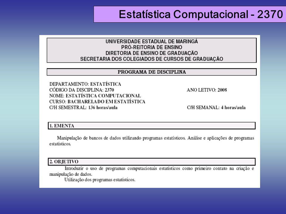 Estatística Computacional - 2370