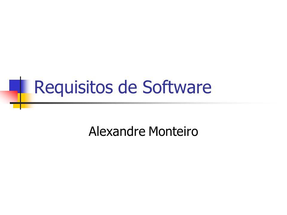 Requisitos de Software Alexandre Monteiro