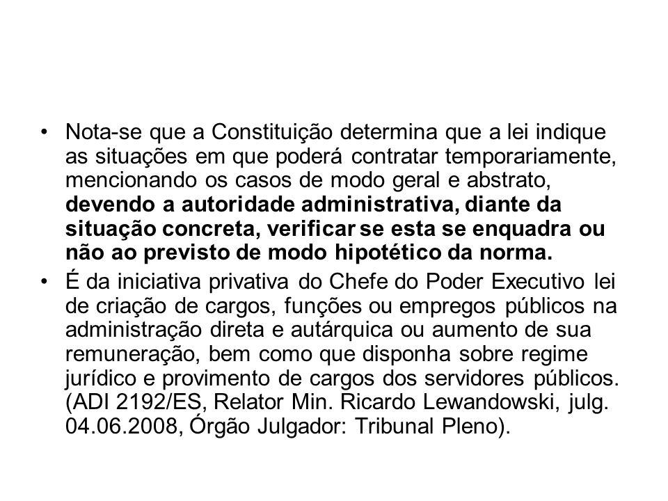 E.C.Nº 51/2006: A Emenda Constitucional nº 51/2006 alterou o Art.