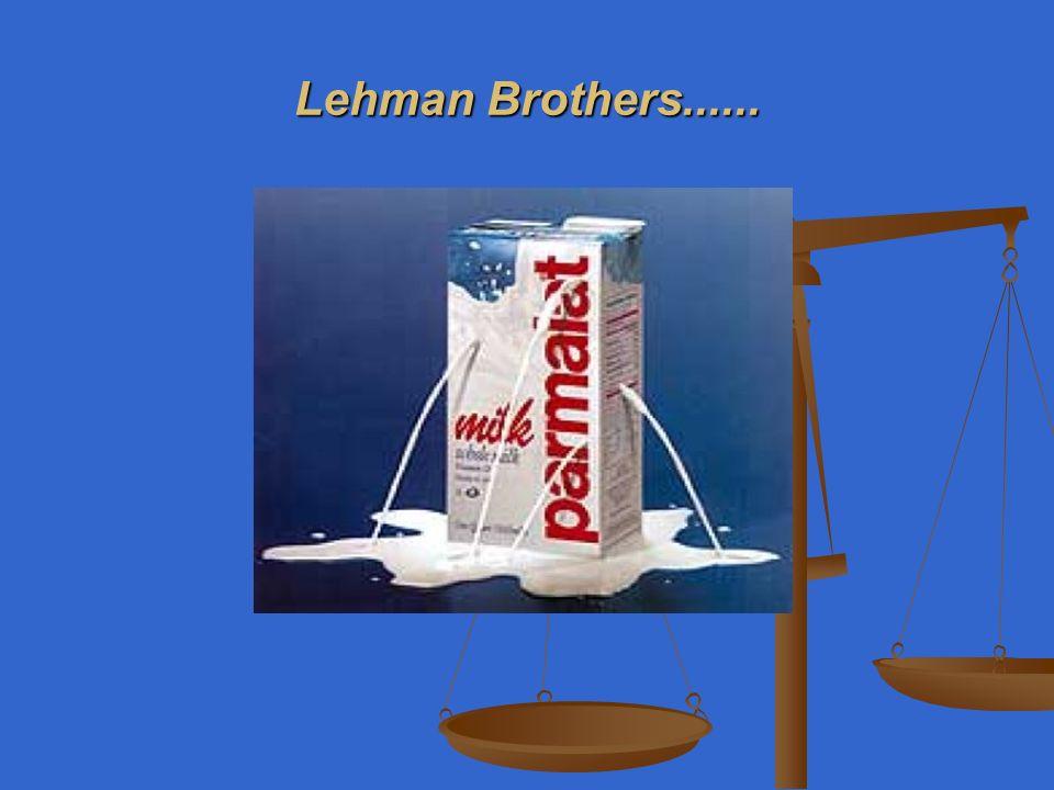 Lehman Brothers......