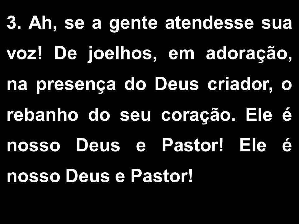 ORAÇÃO EUCARÍSTICA III - O Senhor esteja convosco.
