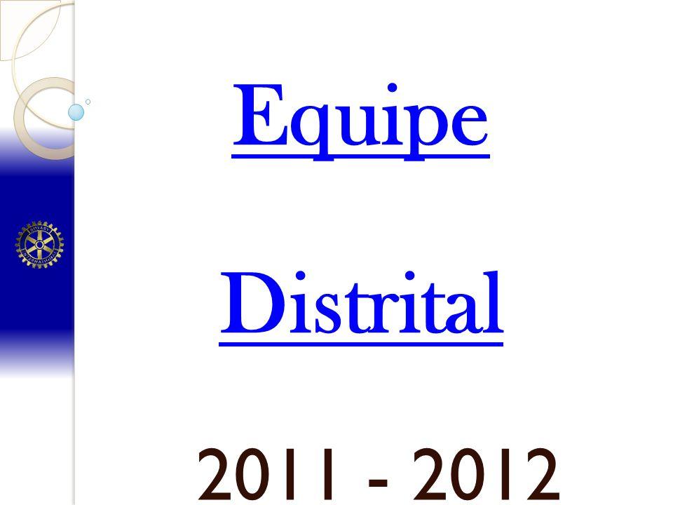 2011 - 2012 Equipe Distrital