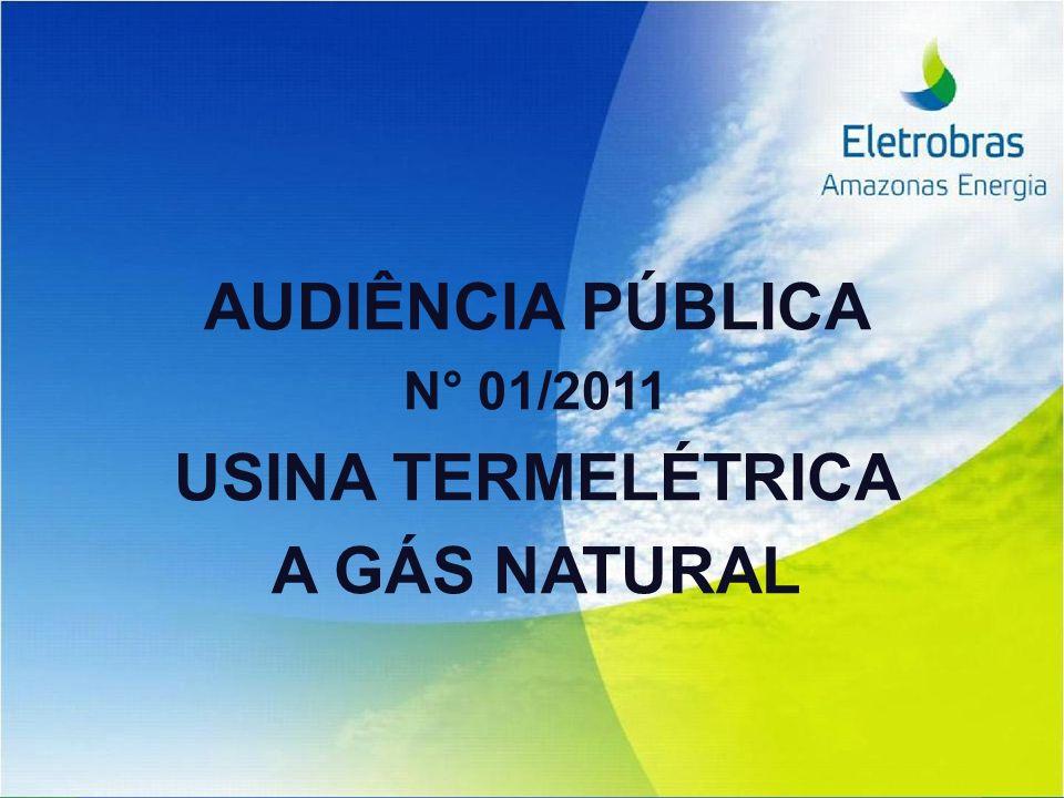 AUDIÊNCIA PÚBLICA N° 01/2011 USINA TERMELÉTRICA A GÁS NATURAL
