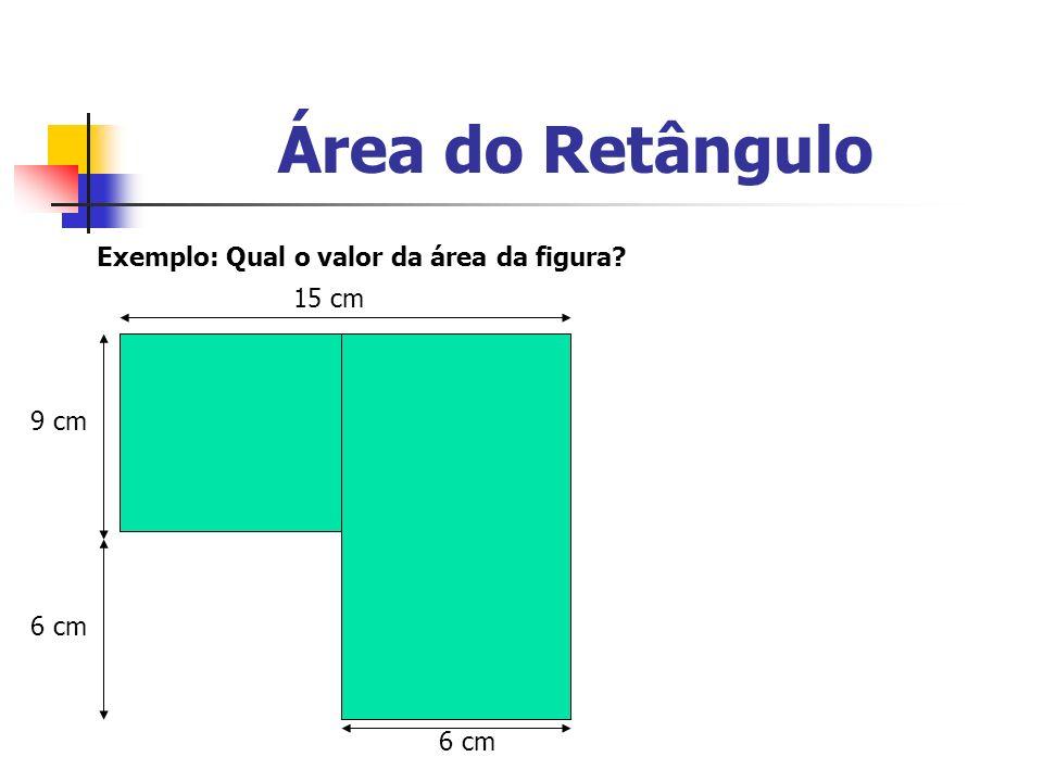 Área do Paralelogramo altura Base Se recortamos os triângulos formado pelas linhas pontilhadas, e substituirmos um no lugar do outro, será formado um retângulo.