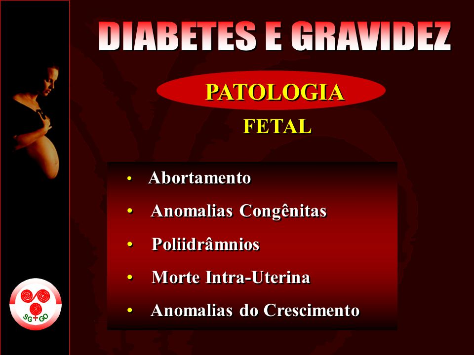 FETAL Abortamento Anomalias Congênitas Poliidrâmnios Morte Intra-Uterina Anomalias do Crescimento FETAL Abortamento Anomalias Congênitas Poliidrâmnios