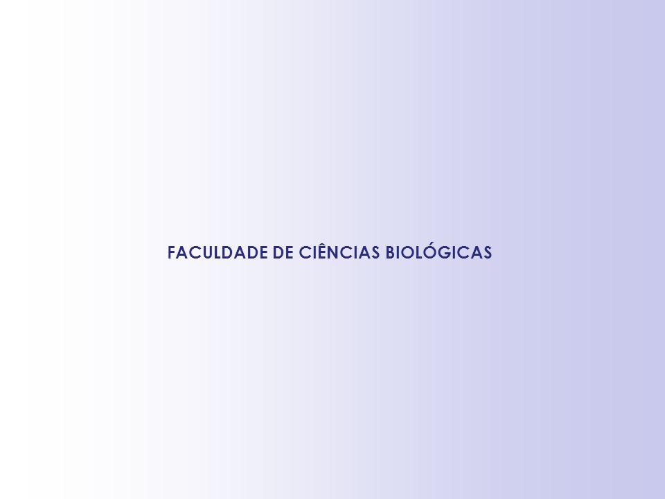 FACULDADE DE CIÊNCIAS BIOLÓGICAS