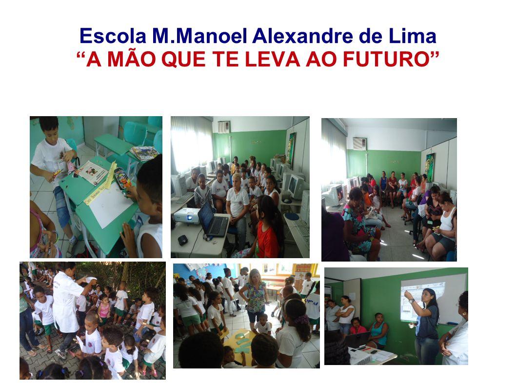 Escola M.Manoel Alexandre de Lima A MÃO QUE TE LEVA AO FUTURO