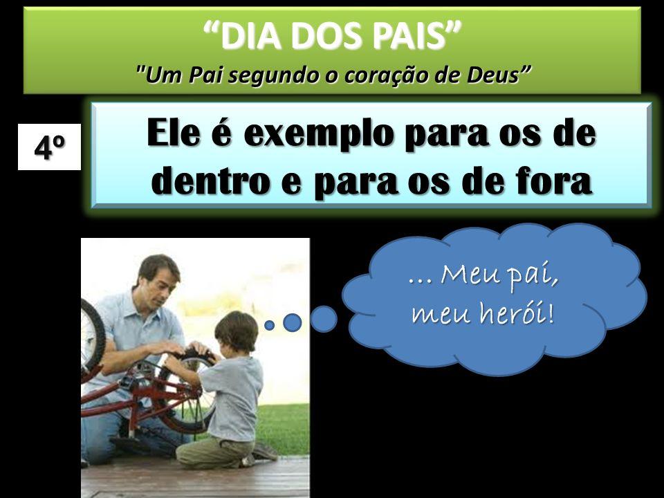 CONCLUSÃO DIA DOS PAIS Um Pai segundo o coração de Deus DIA DOS PAIS Um Pai segundo o coração de Deus Pais segundo o coração de Deus.
