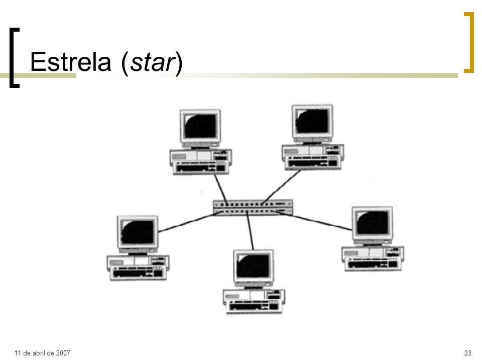 11 de abril de 200723 Estrela (star)