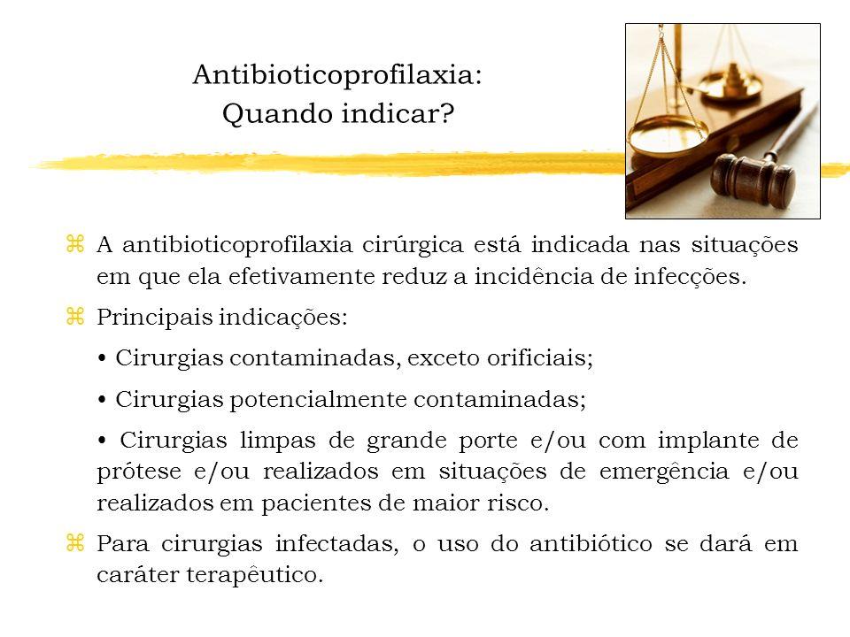 ANTIBIOTICOPROFILAXIA CIRÚRGICA