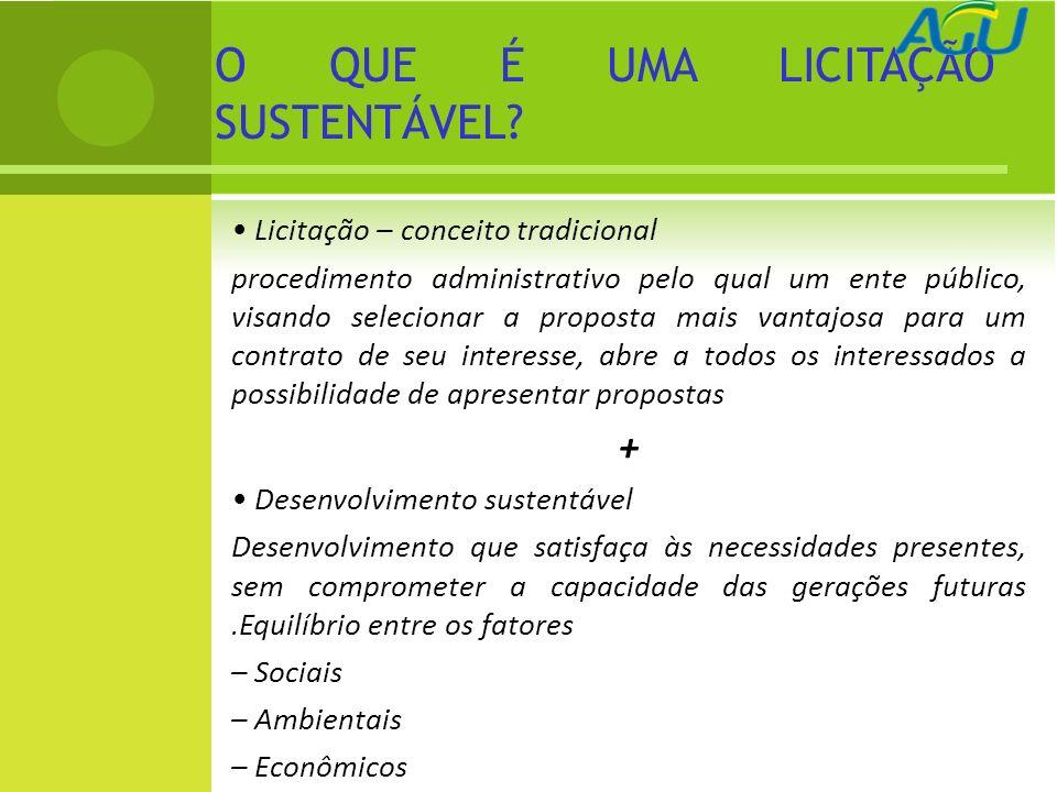 Licitação – conceito tradicional procedimento administrativo pelo qual um ente público, visando selecionar a proposta mais vantajosa para um contrato