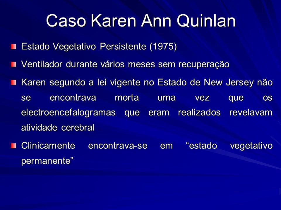 Karen Ann Quinlan Vegetative State Caso Karen Ann Quinlan Estado