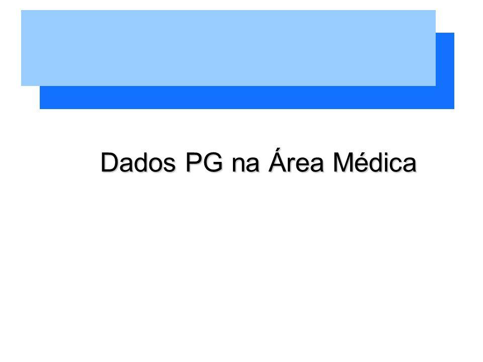Dados PG na Área Médica