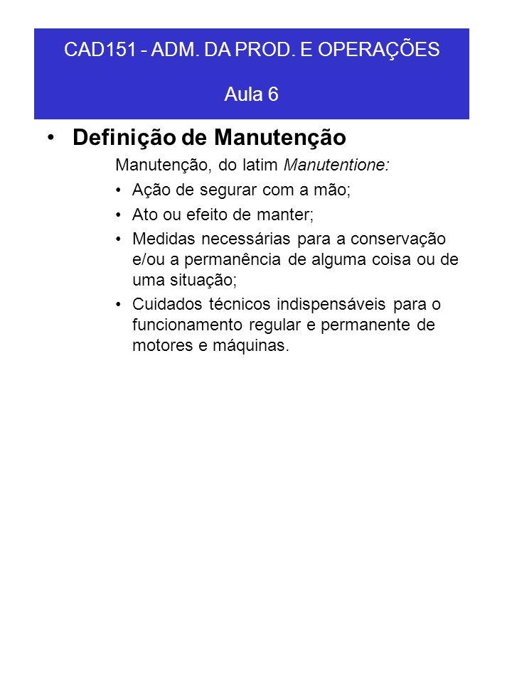 Definição de Manutenção Manutenção, do latim Manutentione: Ação de segurar com a mão; Ato ou efeito de manter; Medidas necessárias para a conservação