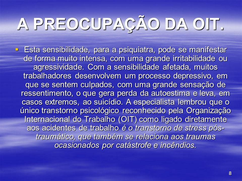9 CONSEQUÊNCIAS DO ASSÉDIO MORAL.