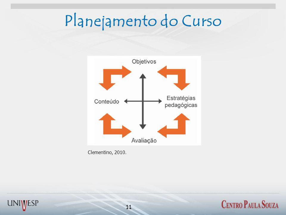 Planejamento do Curso 11 Clementino, 2010.