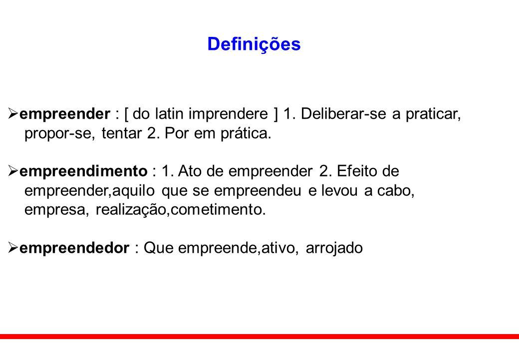 Definições empreender : [ do latin imprendere ] 1.