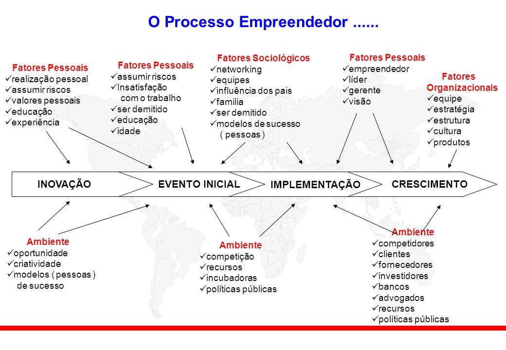 O Processo Empreendedor......