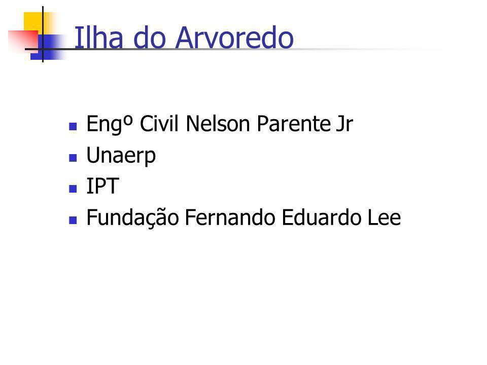 Ilha do Arvoredo Engº Civil Nelson Parente Jr Unaerp IPT Fundação Fernando Eduardo Lee