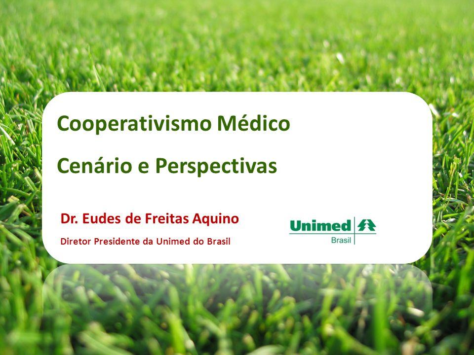 Cooperativismo Médico Cenário e Perspectivas Dr. Eudes de Freitas Aquino Diretor Presidente da Unimed do Brasil