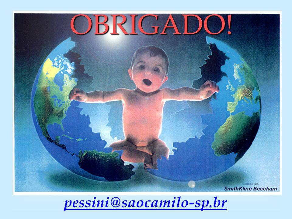 OBRIGADO! pessini@saocamilo-sp.br