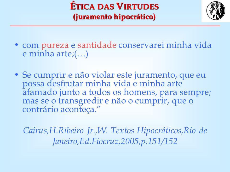 M EDICINA E S ACERDÓCIO Se o enfermo não admira o médico de algum modo como a um deus, não aceitará suas prescrições...