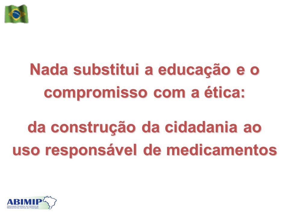 Nada substitui a educação e o compromisso com a ética: da construção da cidadania ao uso responsável de medicamentos