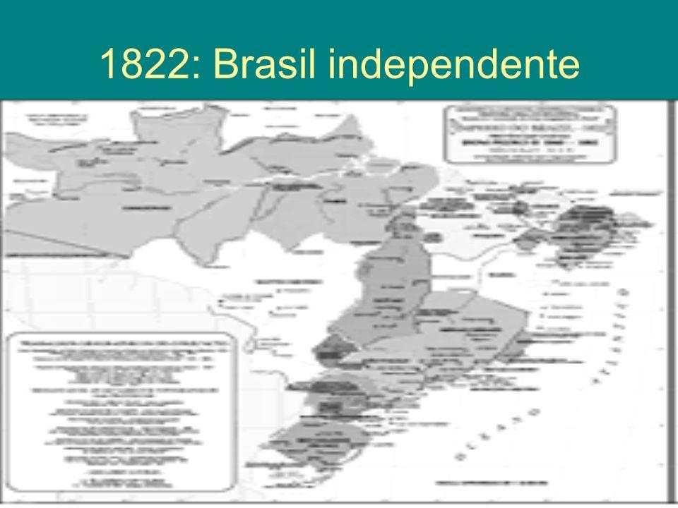 1822: Brasil independente