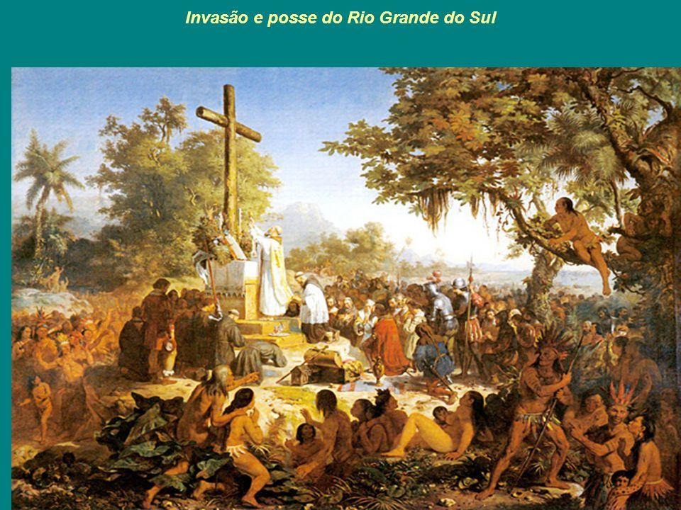 Invasão e posse do Rio Grande do Sul