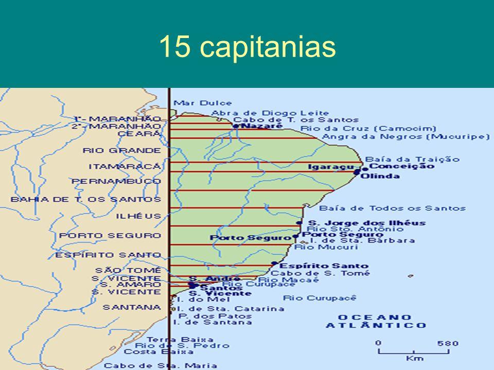 15 capitanias