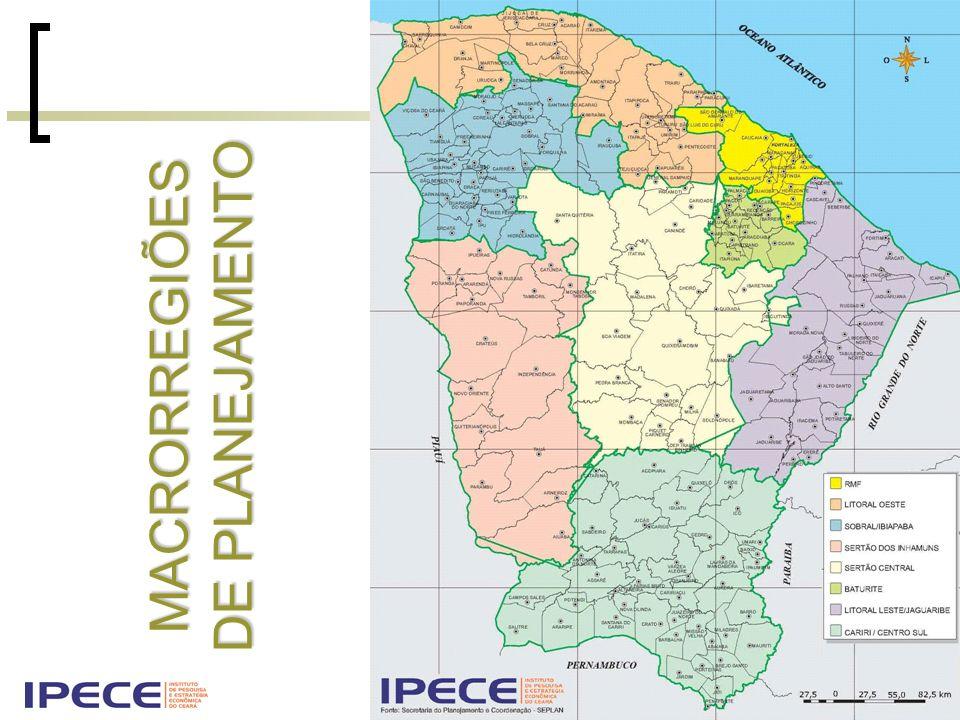 A nova Regionalização do Ceará