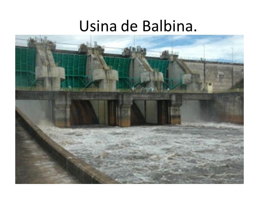 Usina de Balbina.