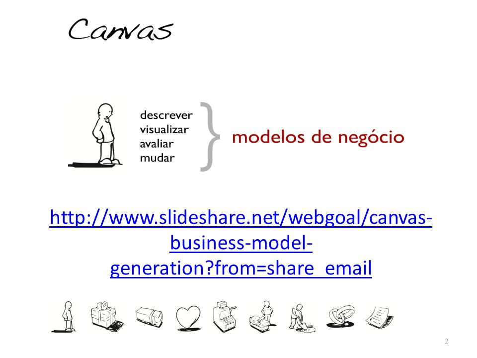 http://www.slideshare.net/webgoal/canvas- business-model- generation?from=share_email 2
