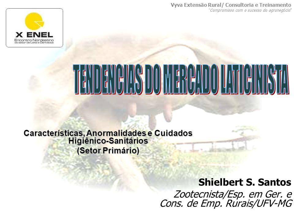 Shielbert S. Santos Zootecnista/Esp. em Ger. e Cons. de Emp. Rurais/UFV-MG Características, Anormalidades e Cuidados Higiênico-Sanitários (Setor Primá