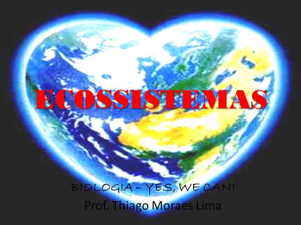 ECOSSISTEMAS BIOLOGIA – YES, WE CAN! Prof. Thiago Moraes Lima