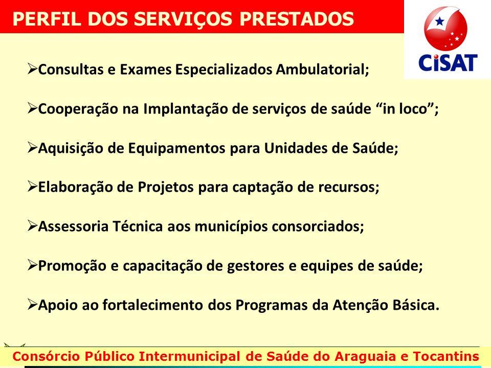 Consultas e Exames Especializados Ambulatorial; Cooperação na Implantação de serviços de saúde in loco; Aquisição de Equipamentos para Unidades de Saú