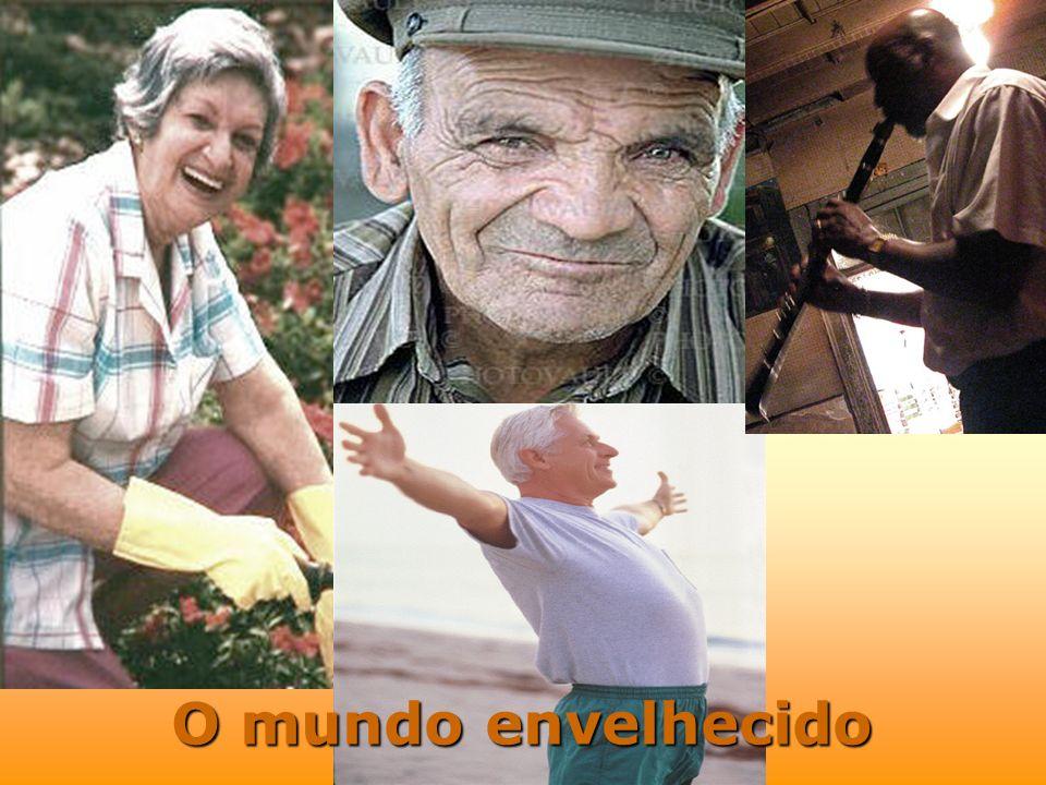 2.1 6.2 31.8 15.1 1950 1975 2000 2020 BOOM de Idosos no Brasil [em milhões de habitantes]