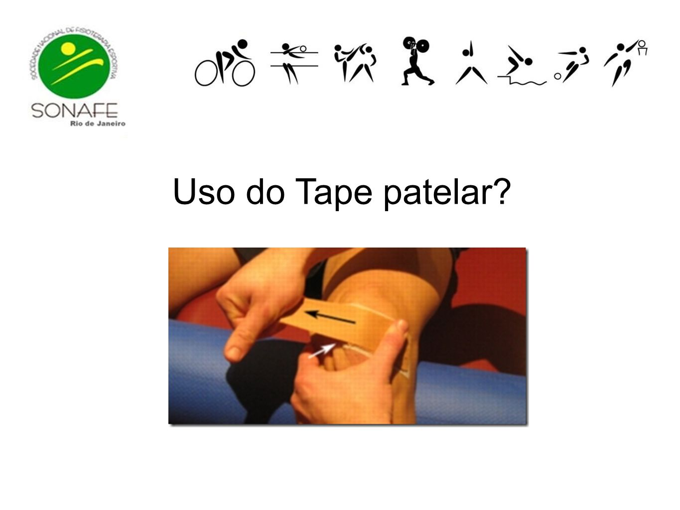 Uso do Tape patelar?