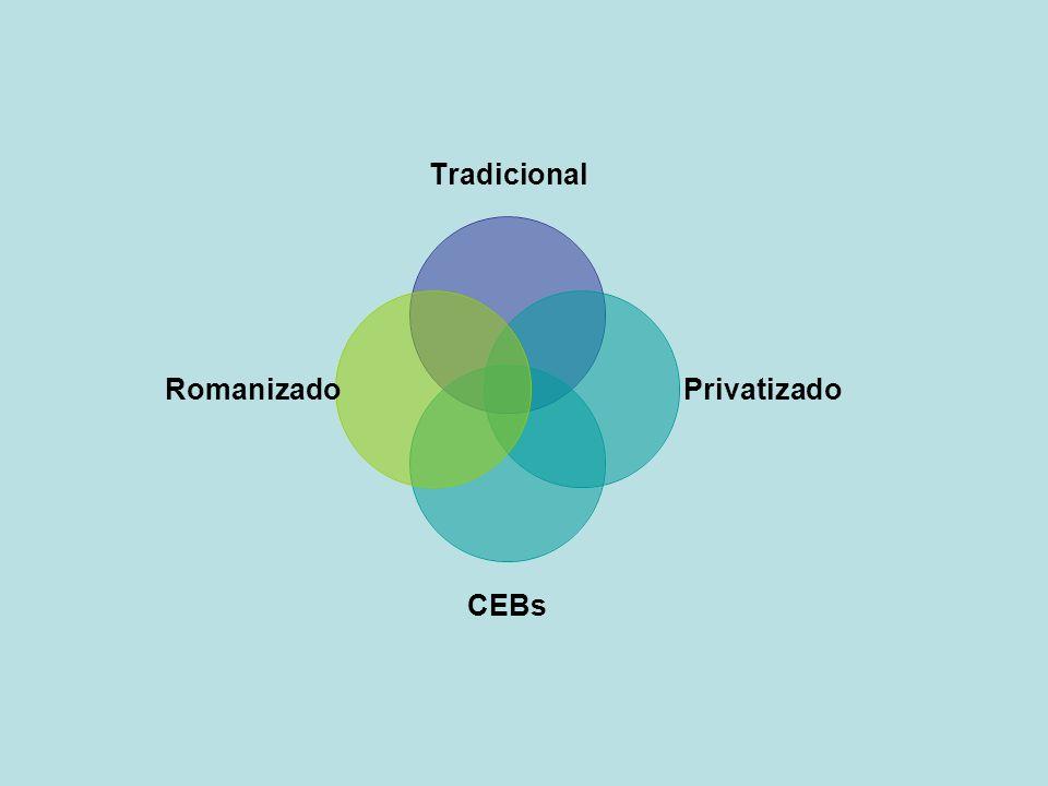 Tradicional Privatizado CEBs Romanizado