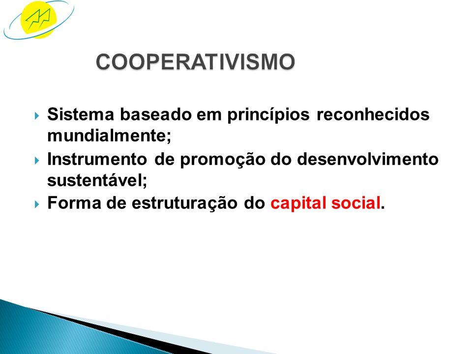 Sistema em que todos se empenham em mútua colaboração e responsabi- lidade, bem como usufruem dos seus benefícios.