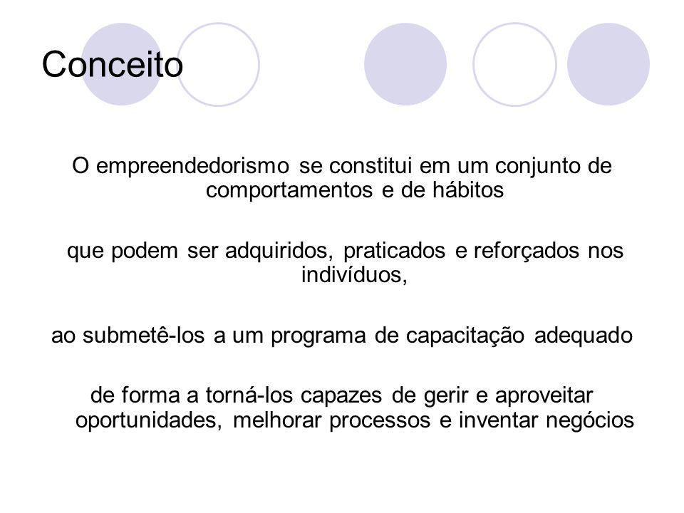 Os Empreendedores no Mundo Per fazem mais de 73 milhões de indivíduos em todo o mundo O Brasil ocupa a 7 a.
