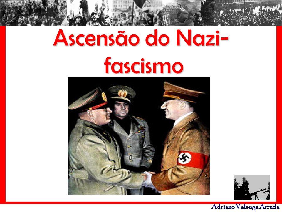 Adriano Valenga Arruda Conceito: fascismo é uma ditadura de extrema-direta, apoiada pelos grandes empresários, com objetivo de impedir a chegada da esquerda no poder.