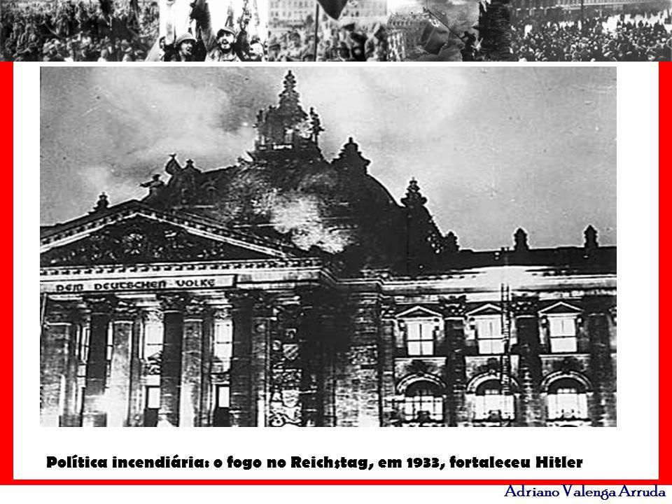 Adriano Valenga Arruda Política incendiária: o fogo no Reichstag, em 1933, fortaleceu Hitler