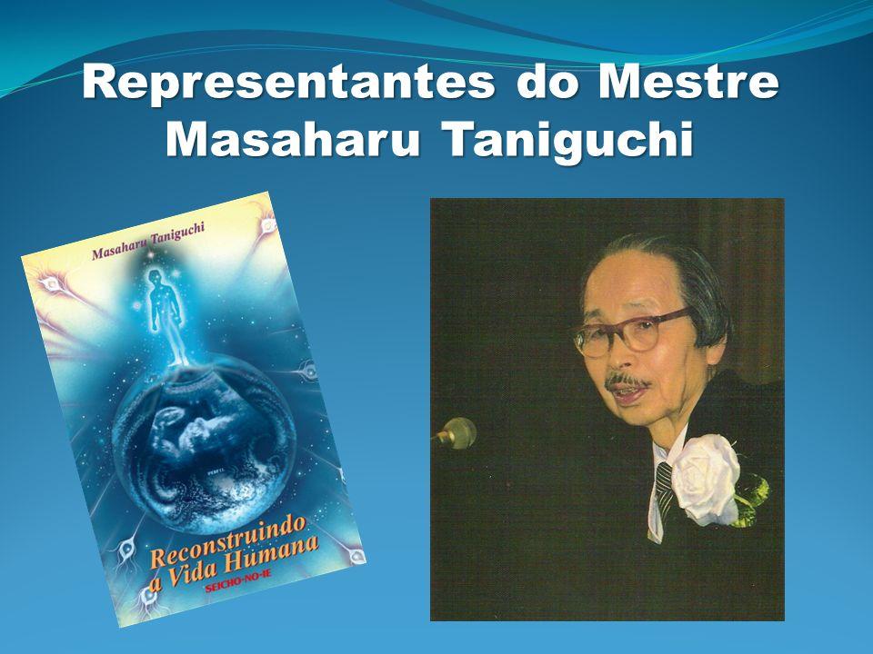 Representantes do Mestre Masaharu Taniguchi