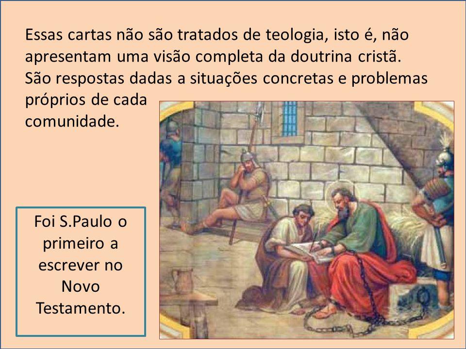 Essas cartas não são tratados de teologia, isto é, não apresentam uma visão completa da doutrina cristã. São respostas dadas a situações concretas e p