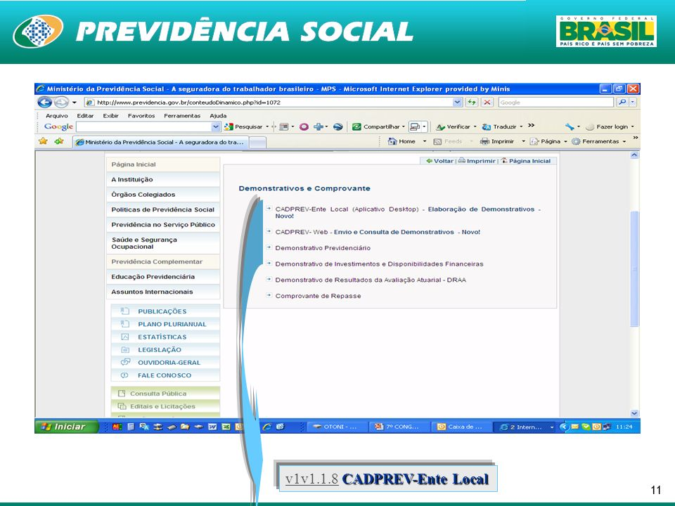 11 CADPREV-Ente Local v1v1.1.8 CADPREV-Ente Local v1v1.1.8