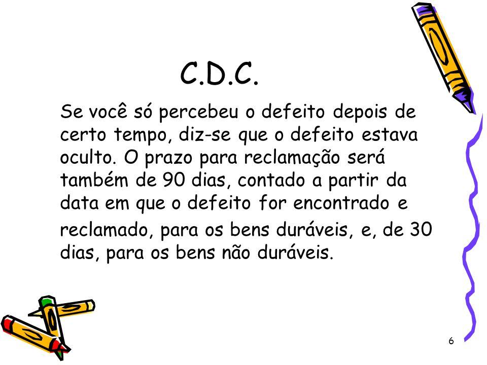 7 C.D.C.